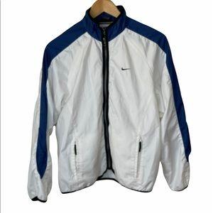 Vintage Women's Nike Zip-Up Windbreaker Jacket Size M